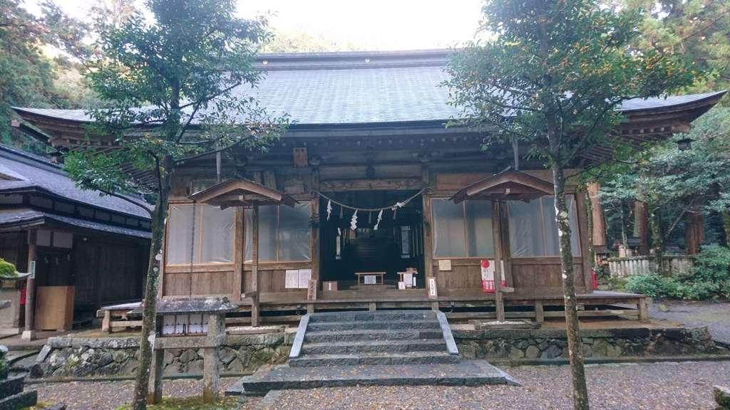 八幡神社(武芸八幡宮)の本殿