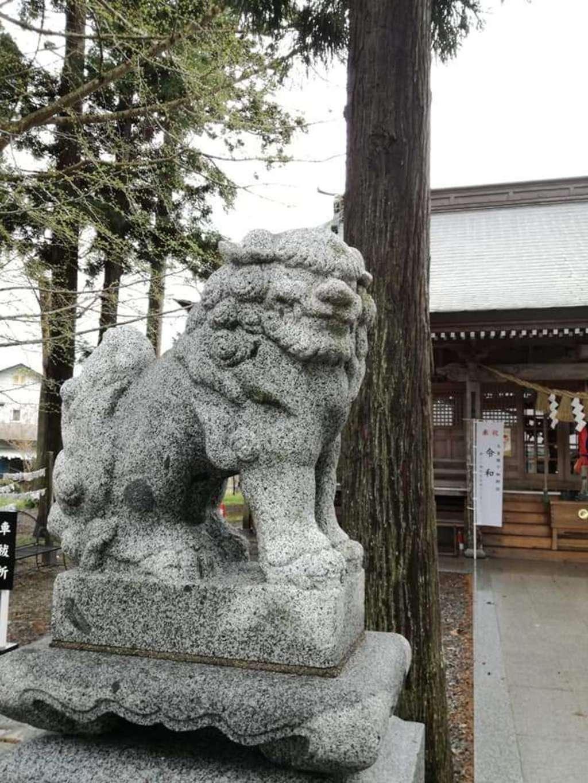 大宮神社の狛犬
