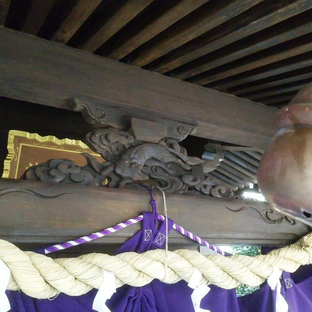 茶の木神社の芸術