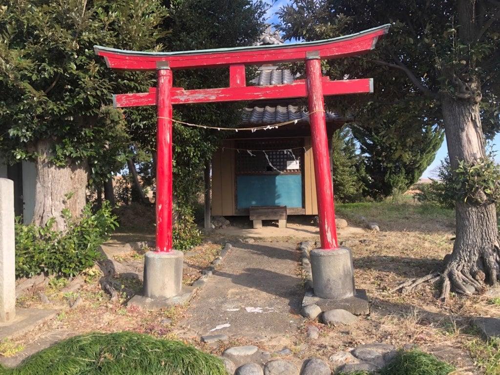 白髪神社の鳥居