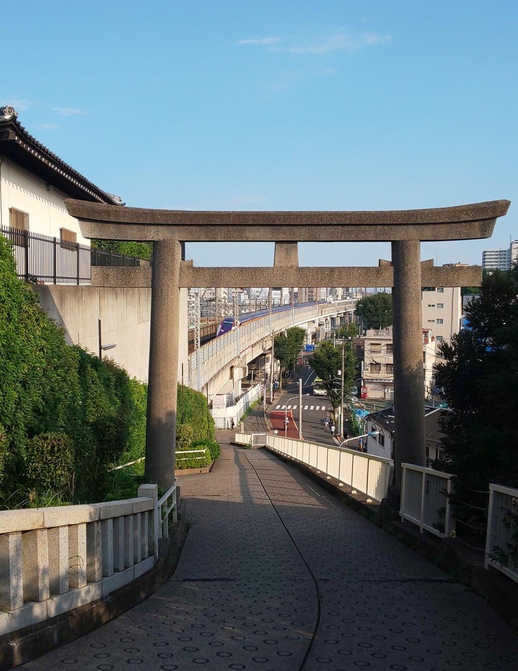 赤羽八幡神社の鳥居