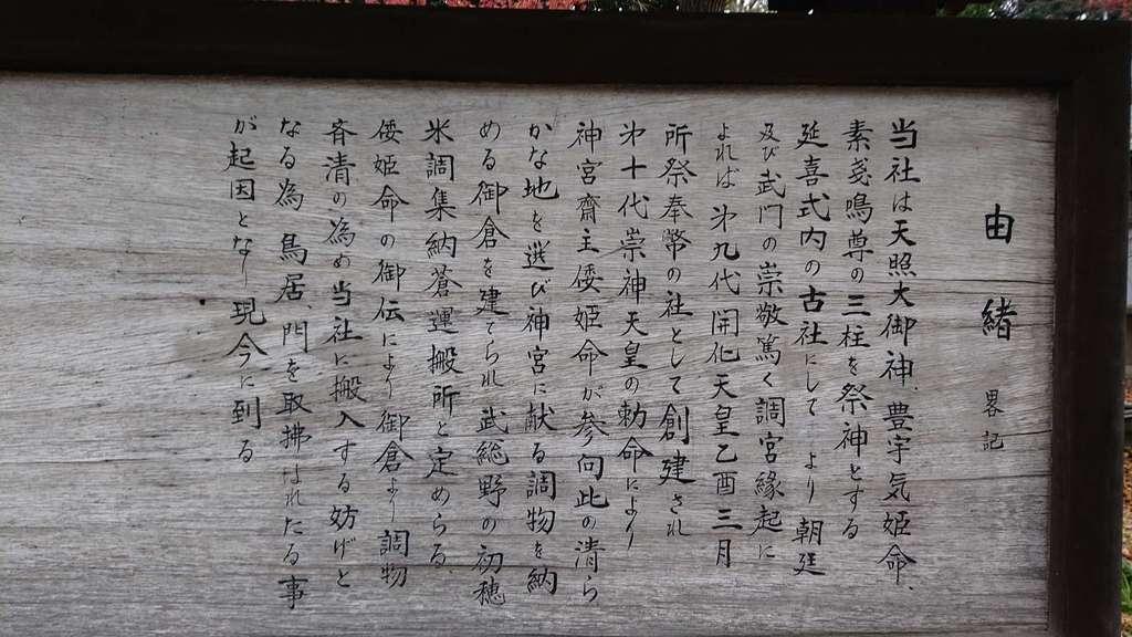 調神社の歴史