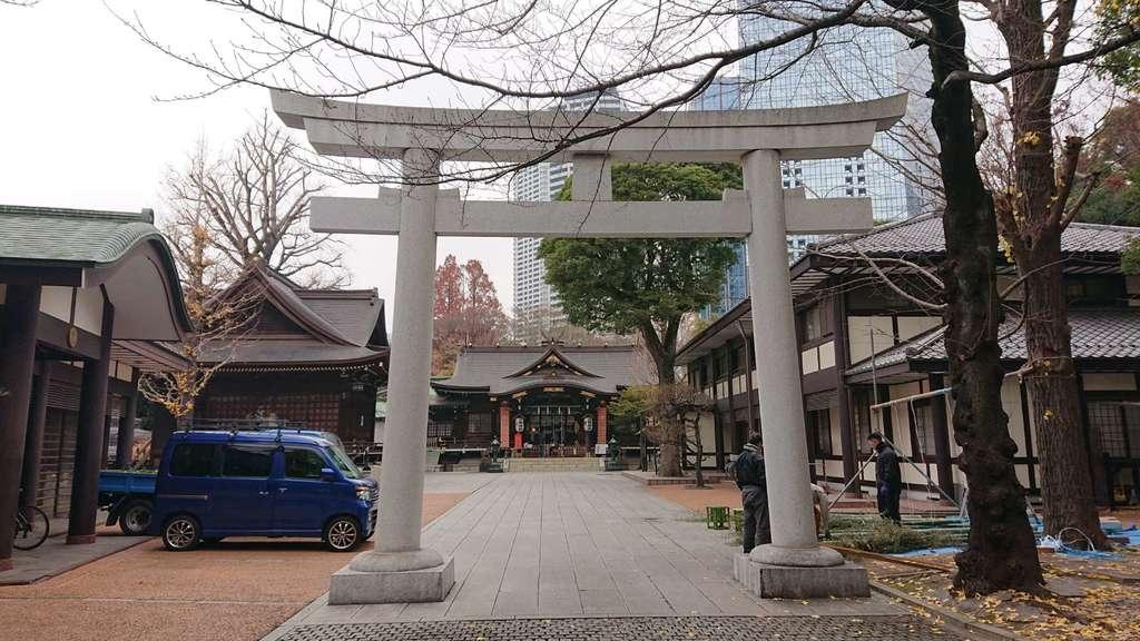 熊野神社の鳥居