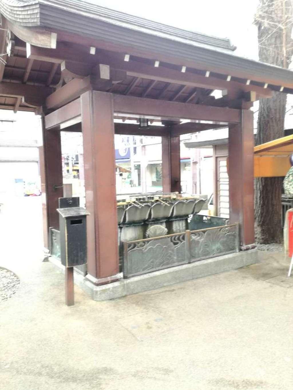とげぬき地蔵尊 高岩寺の手水