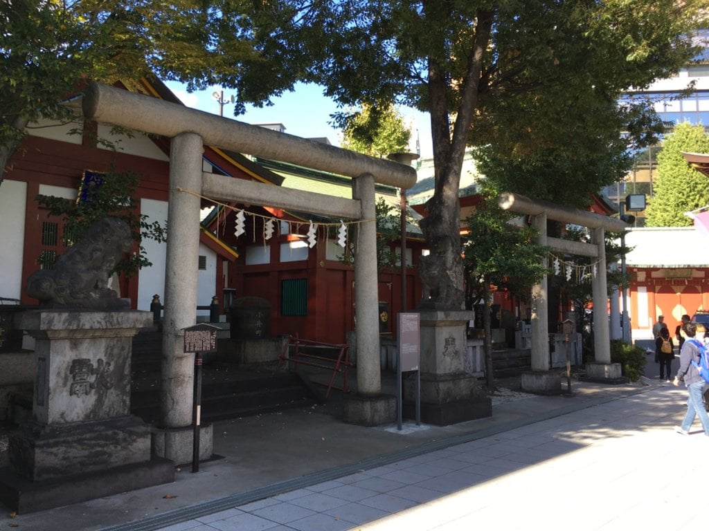神田神社(神田明神)の鳥居