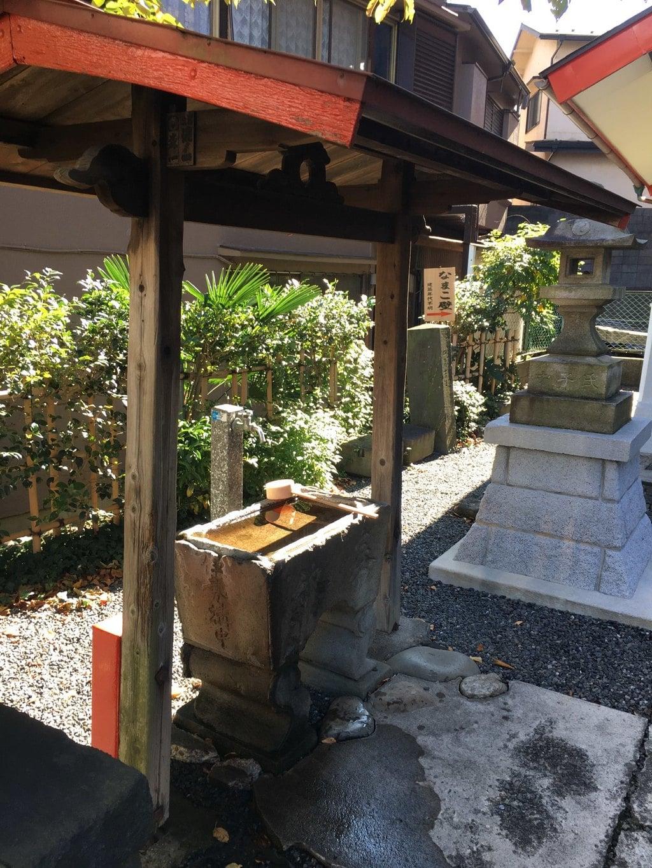 坂稲荷神社の手水