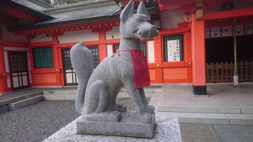 金神社の狛犬