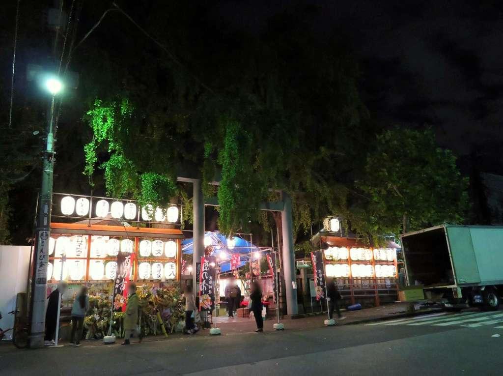 波除稲荷神社の鳥居