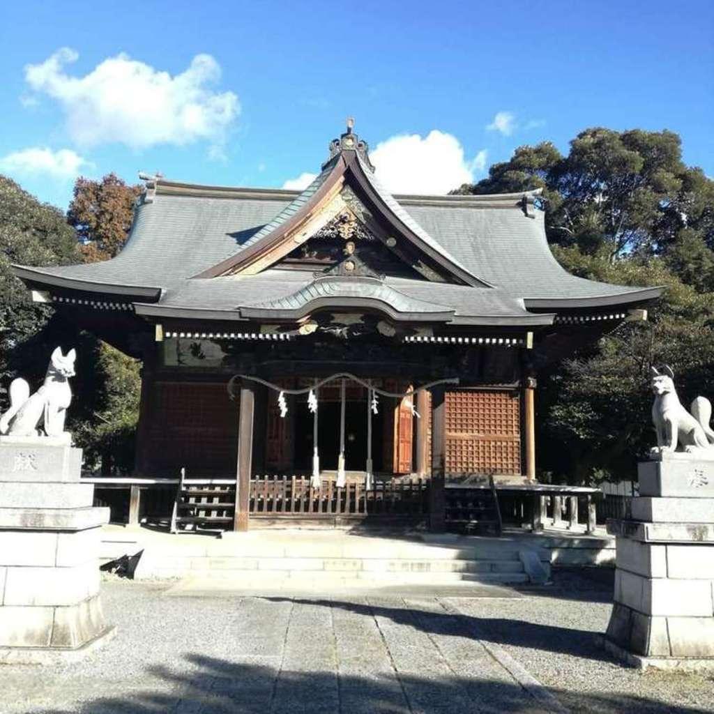 一瓶塚稲荷神社の本殿