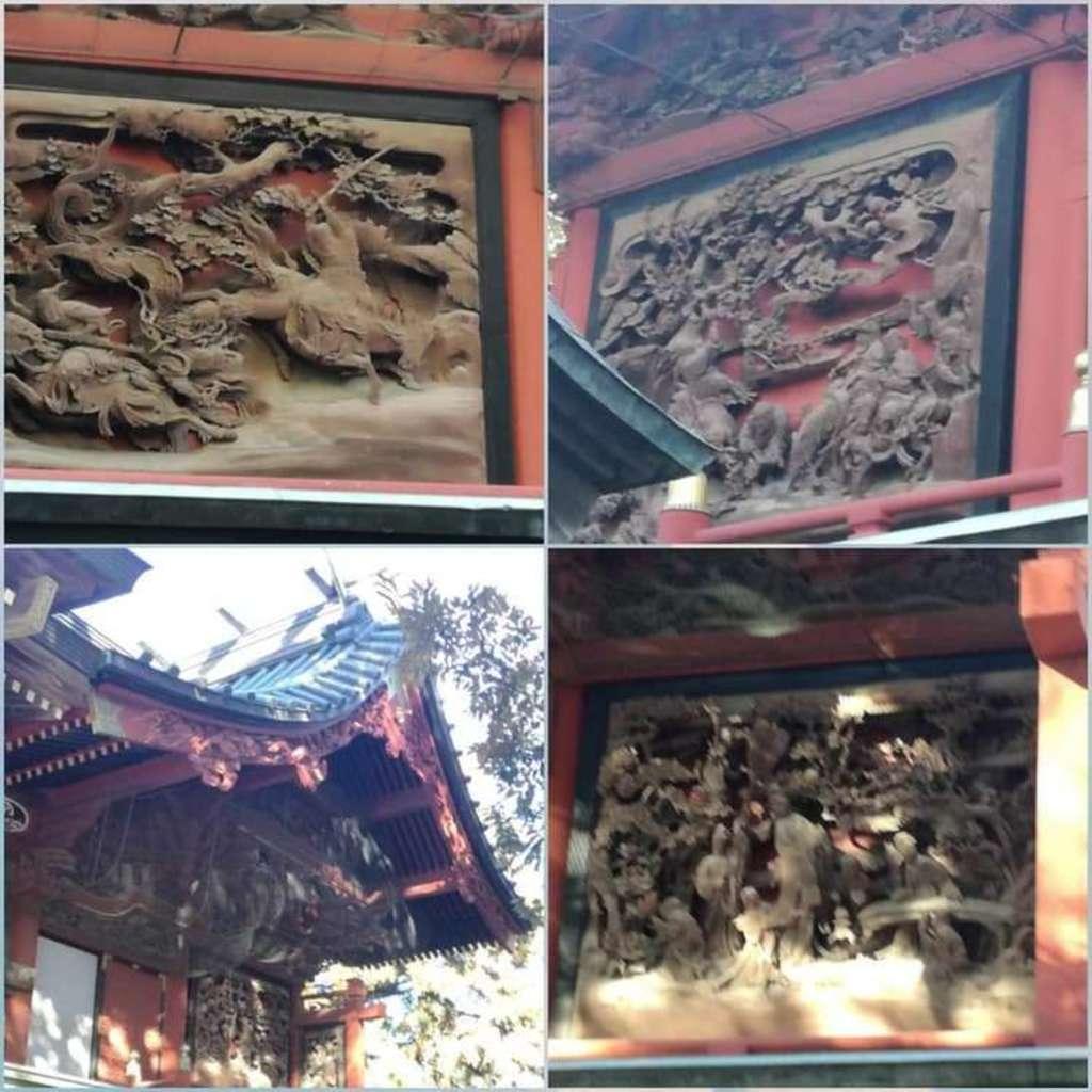 一瓶塚稲荷神社の芸術