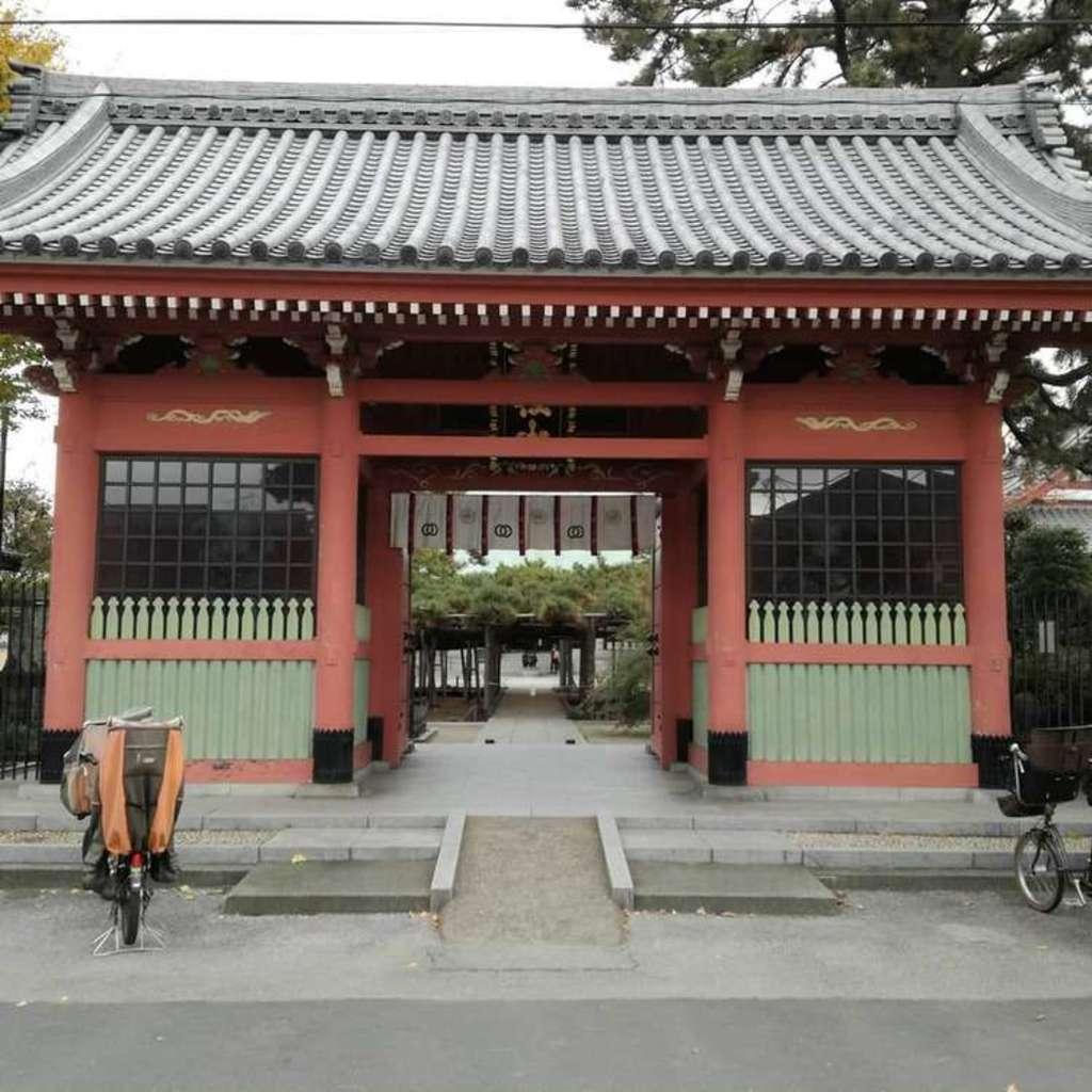善養寺の山門