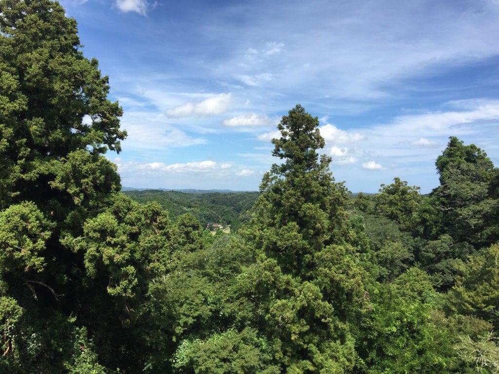 笠森寺の景色