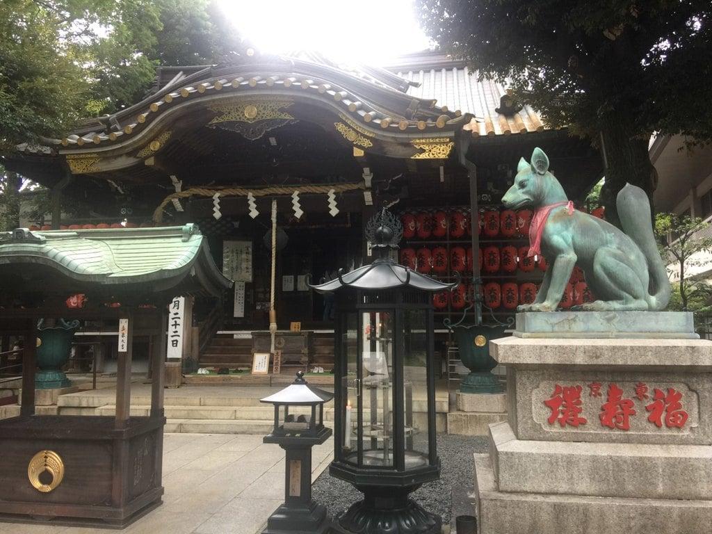 覚林寺の狛犬