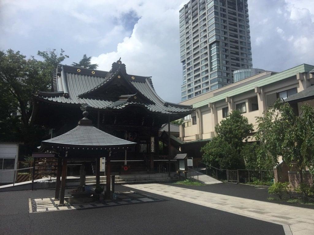 覚林寺の景色