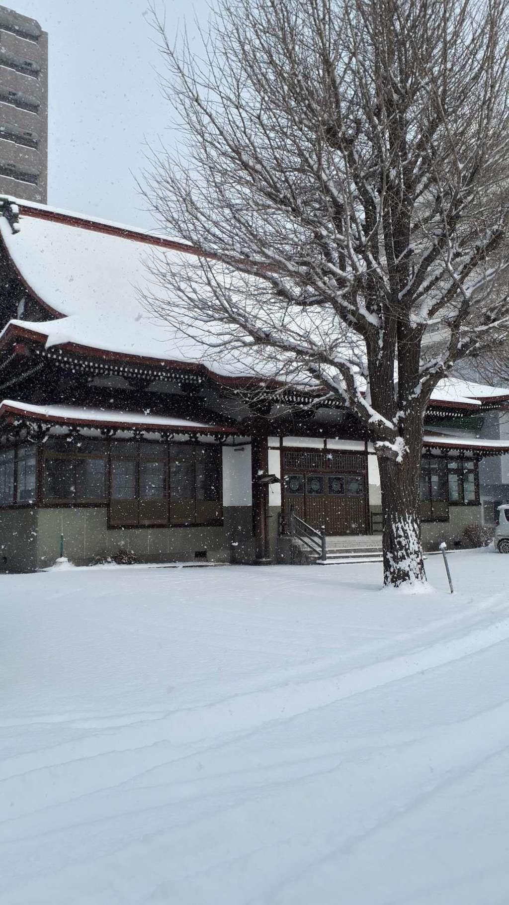 札幌興正寺別院の本殿