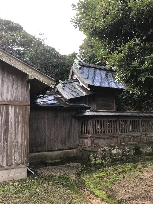 多氣神社の本殿