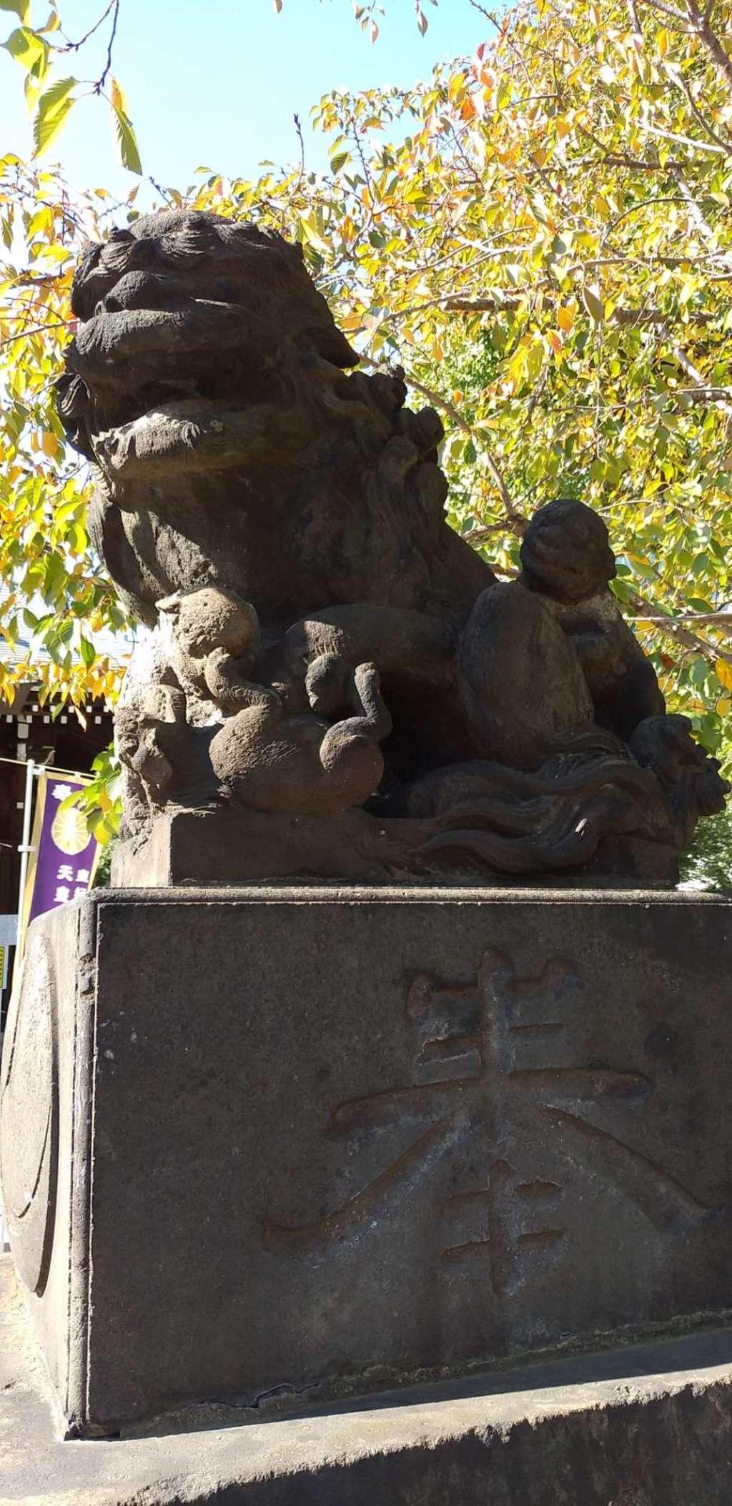 磐井神社の狛犬