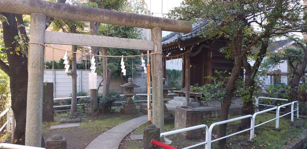 磐井神社の末社