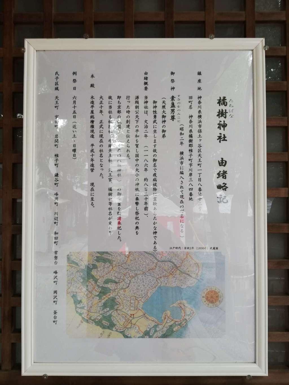 橘樹神社の歴史