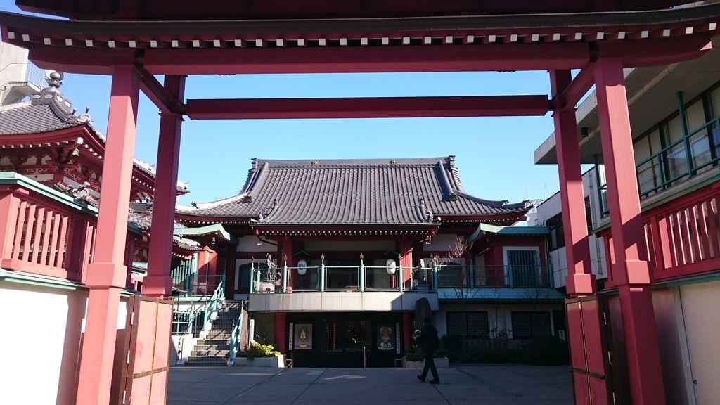 法乗院(深川閻魔堂)の山門