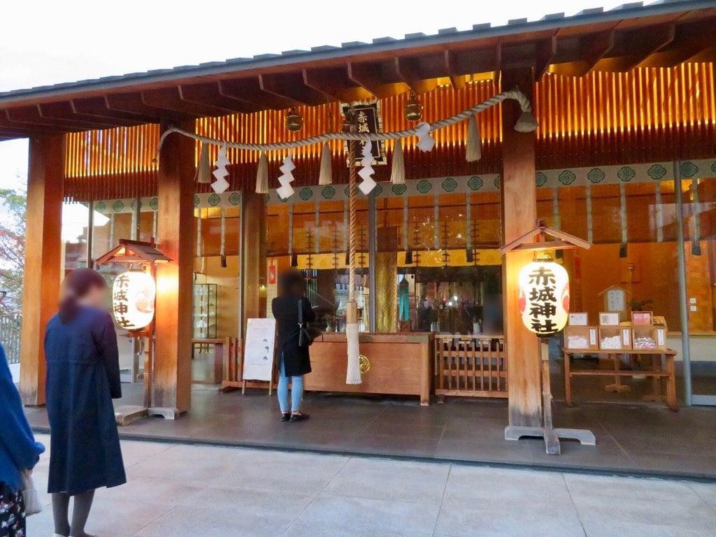 赤城神社の本殿