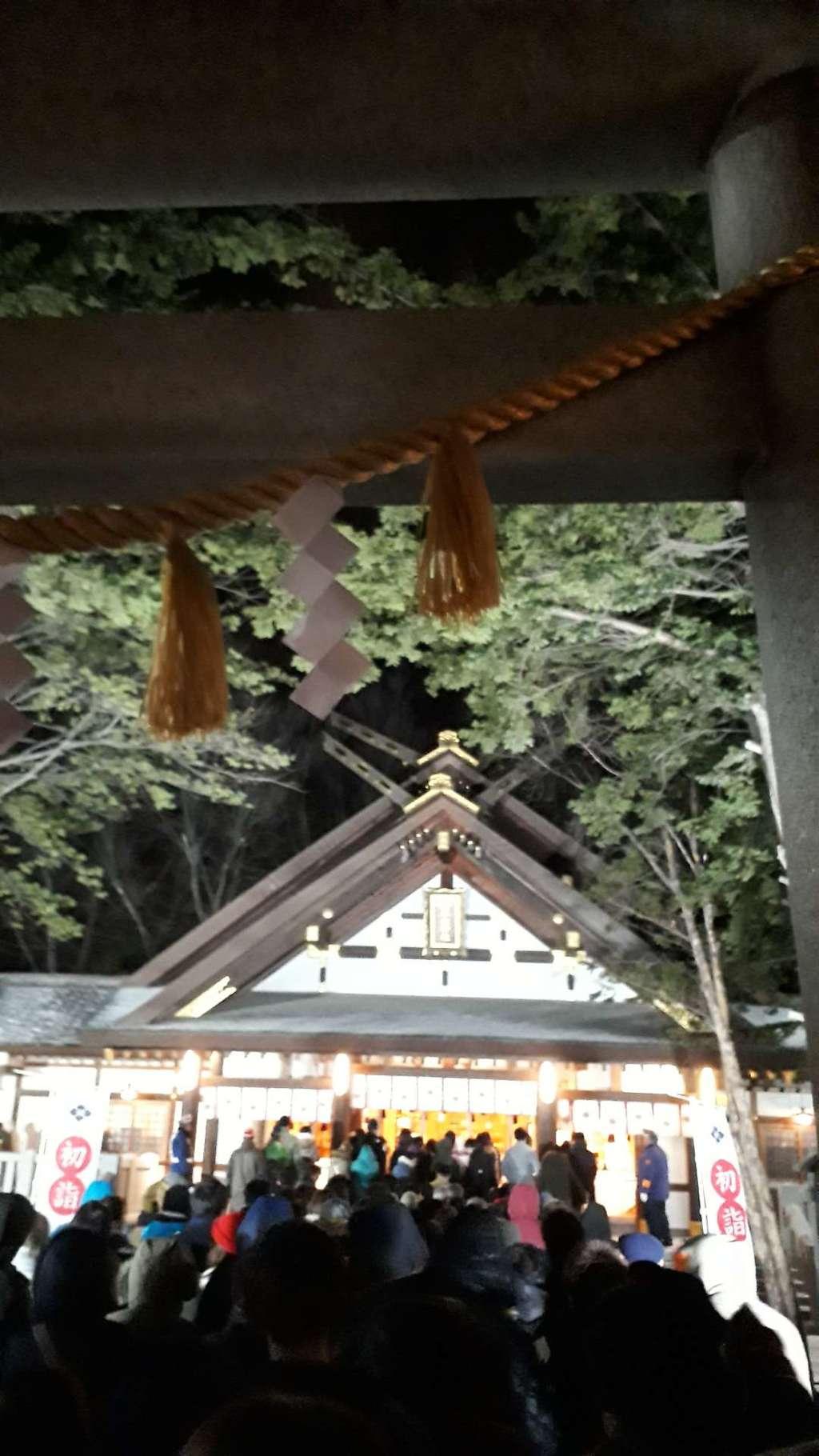 新琴似神社の初詣