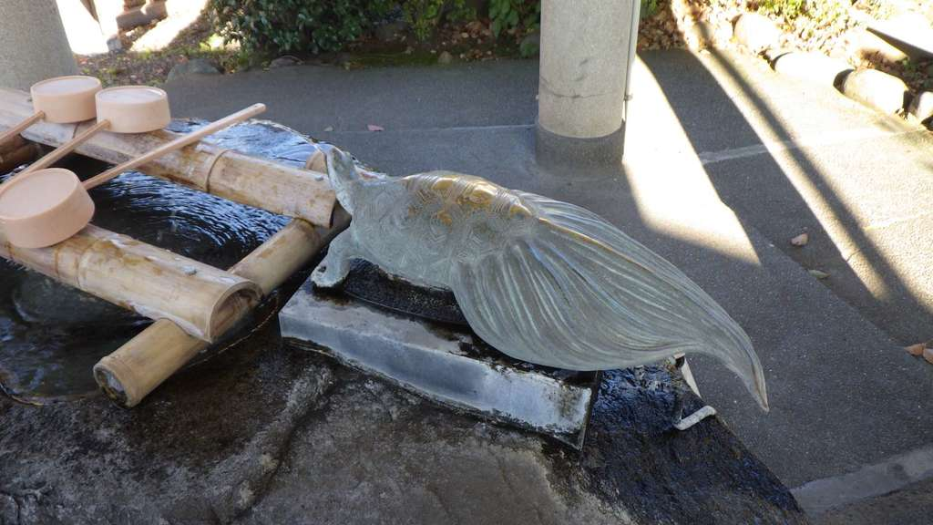 亀戸天神社の手水
