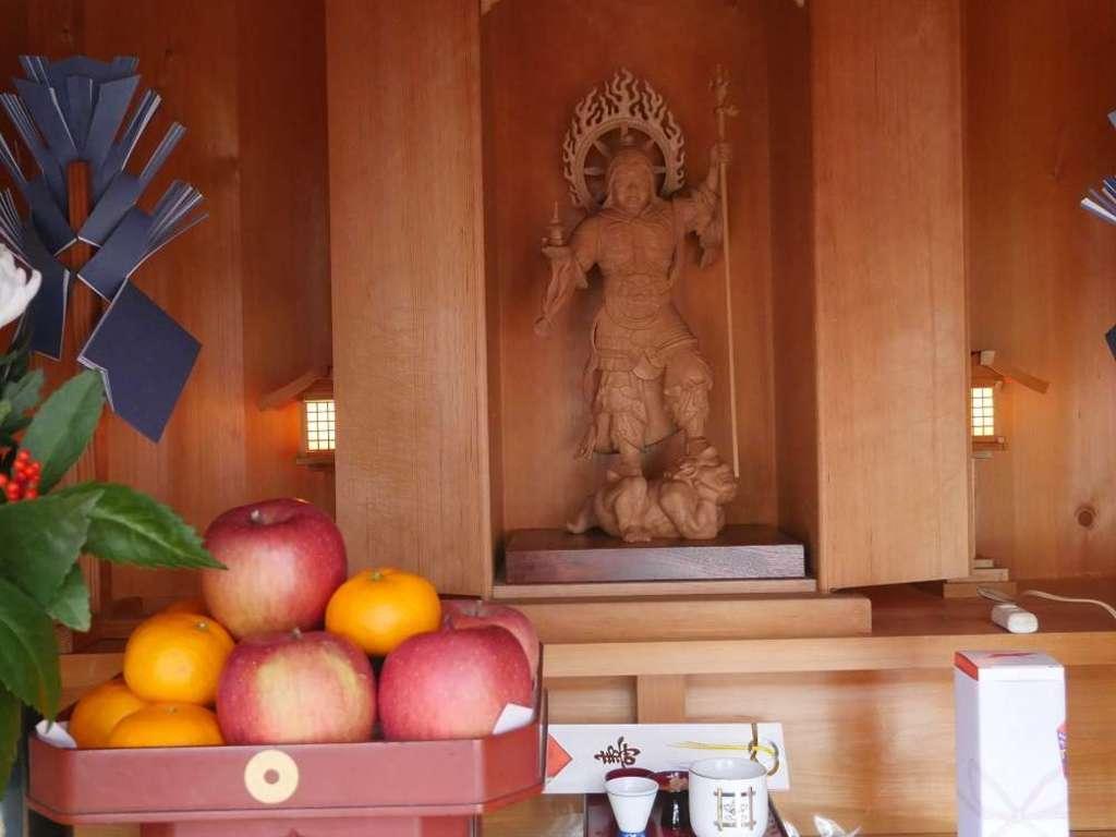 覚林寺の仏像