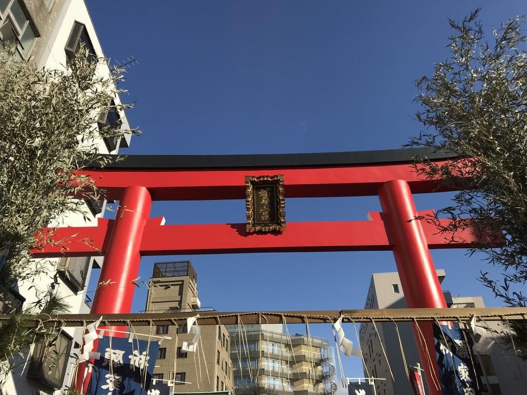 鷲神社の鳥居