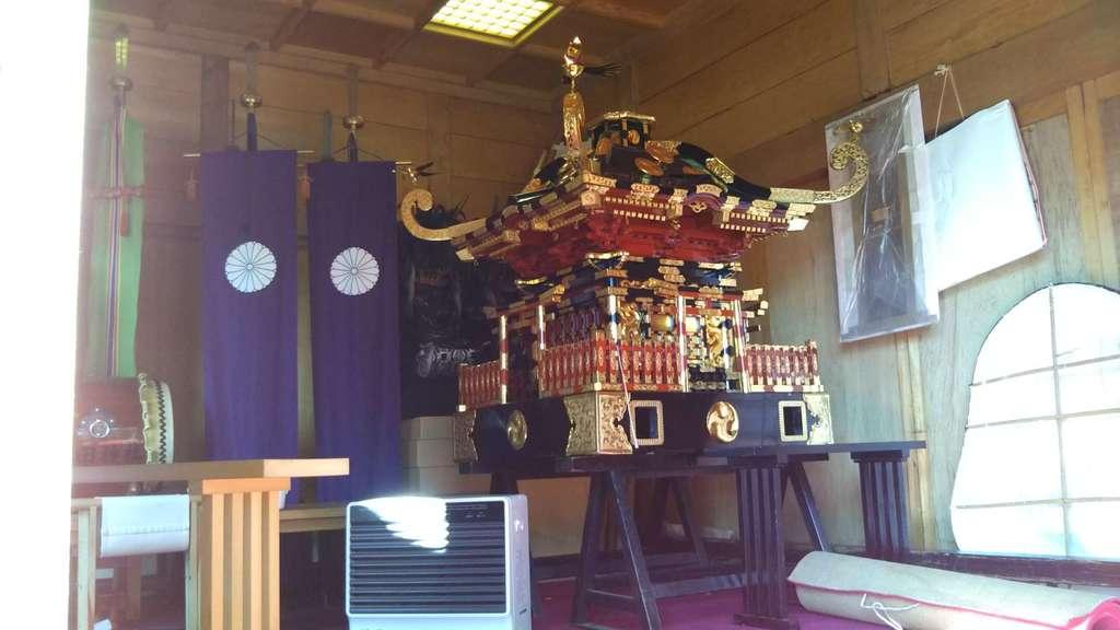 常陸第三宮 吉田神社のお祭り