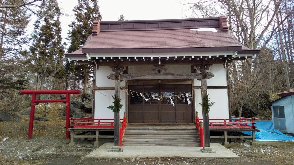 大臼山神社の本殿