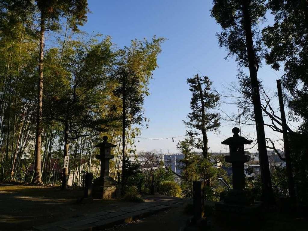 居神神社の自然
