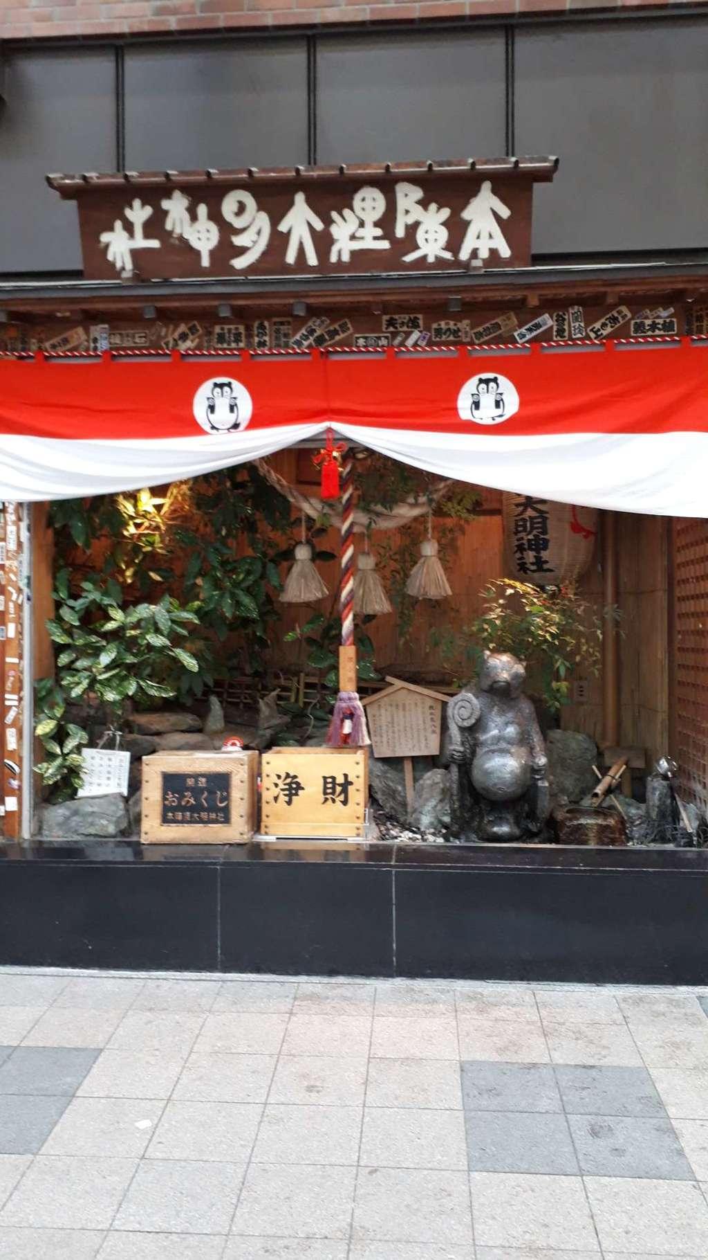 本陣狸大明神社の本殿