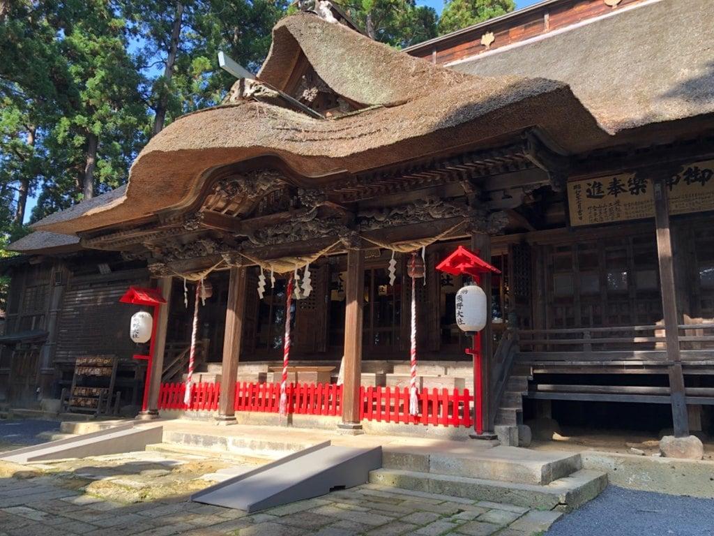 熊野大社の本殿