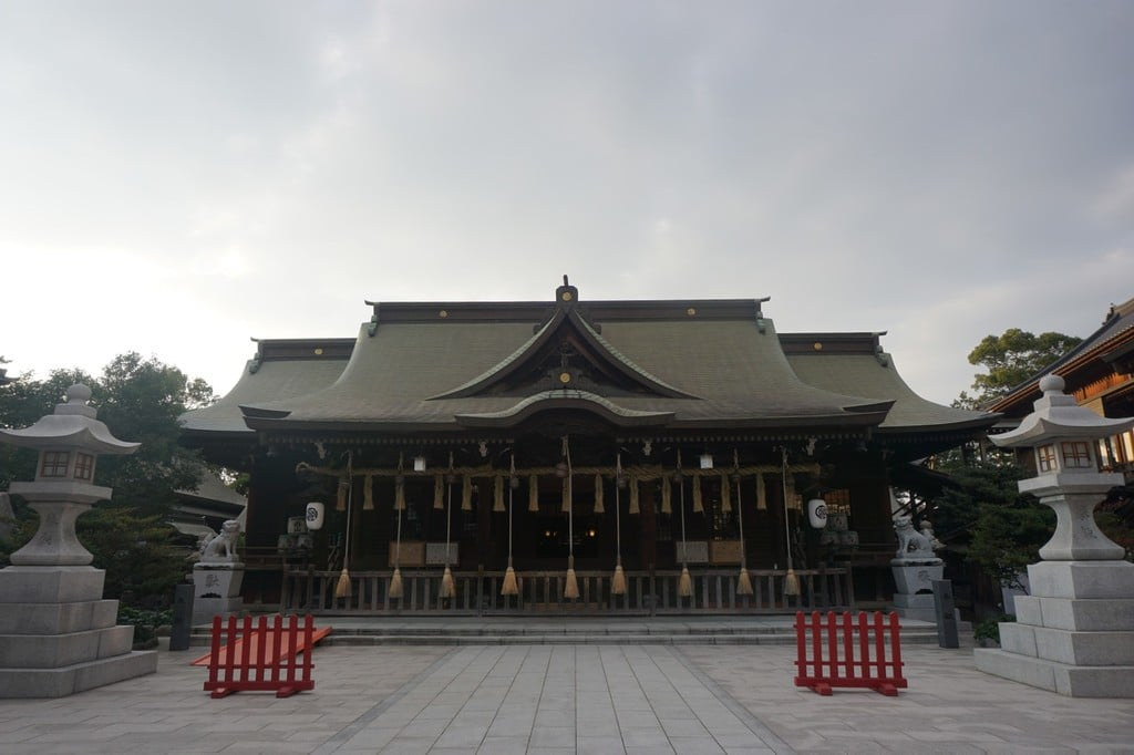 小倉祇園八坂神社の本殿