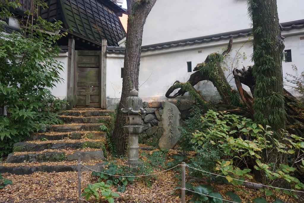 小倉祇園八坂神社の庭園