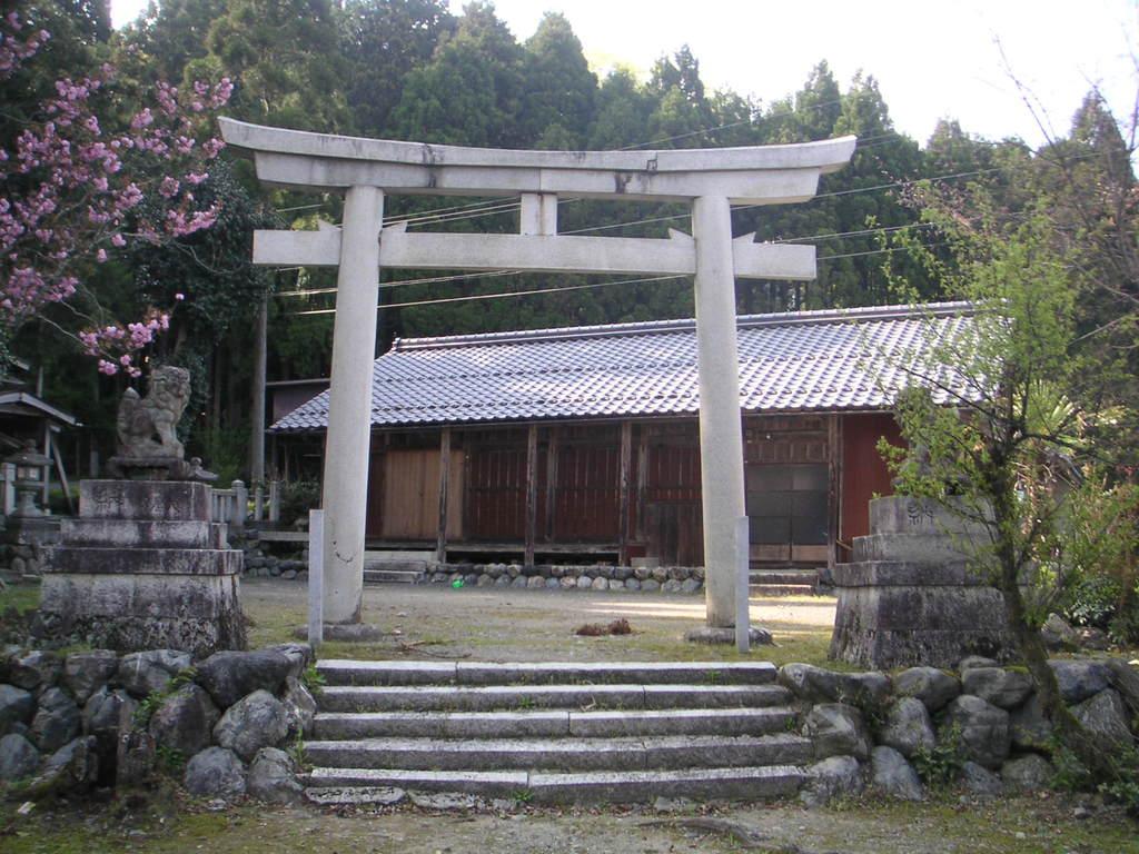 志子淵神社の鳥居