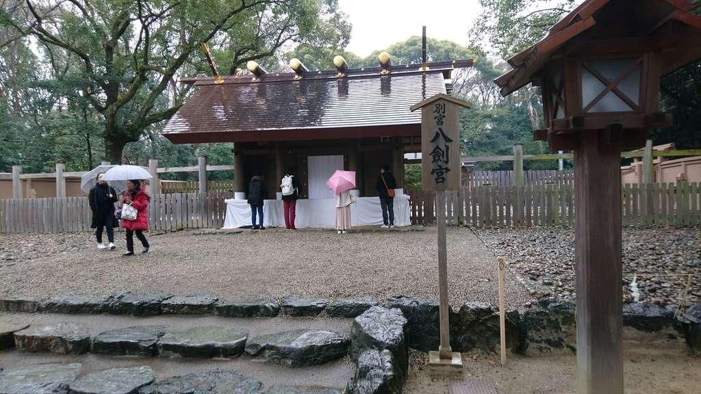 八剣宮(熱田神宮別宮)の本殿