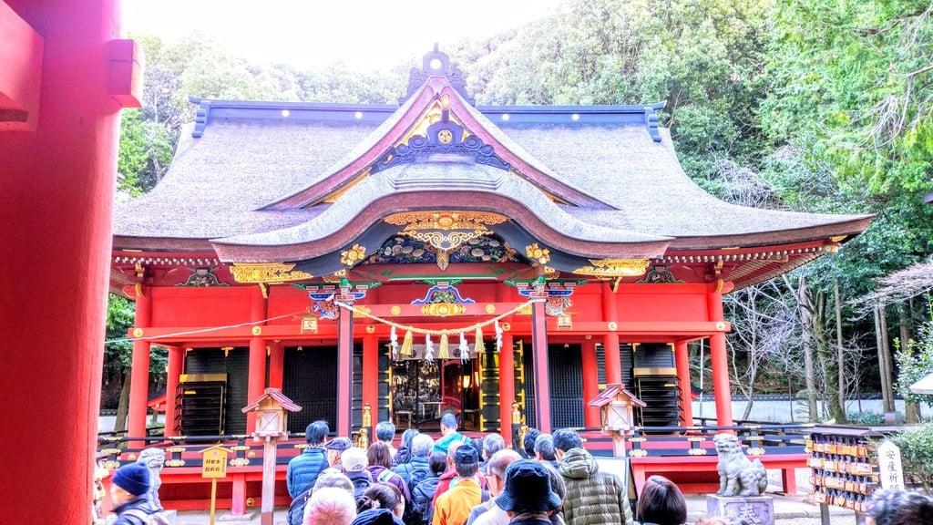 六所神社の本殿