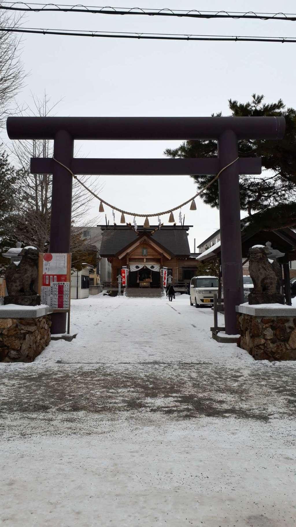 札幌村神社の鳥居