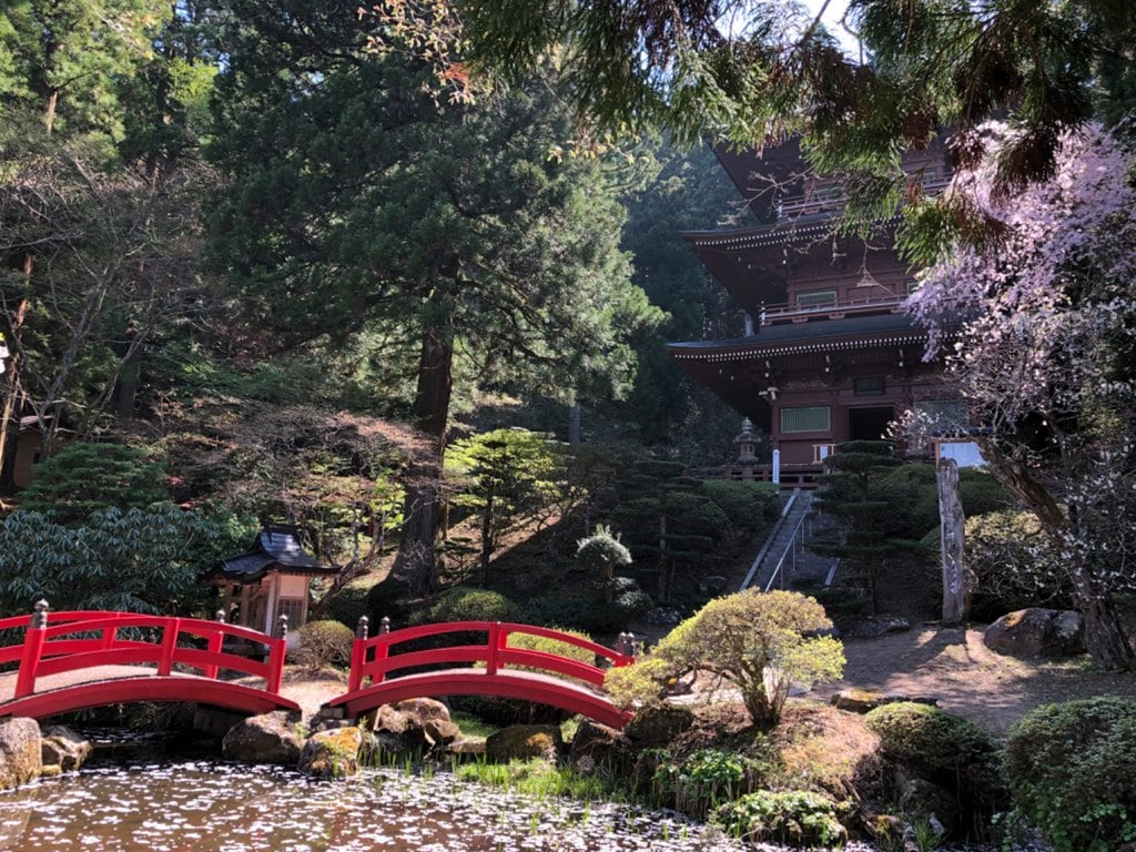 法光寺の庭園