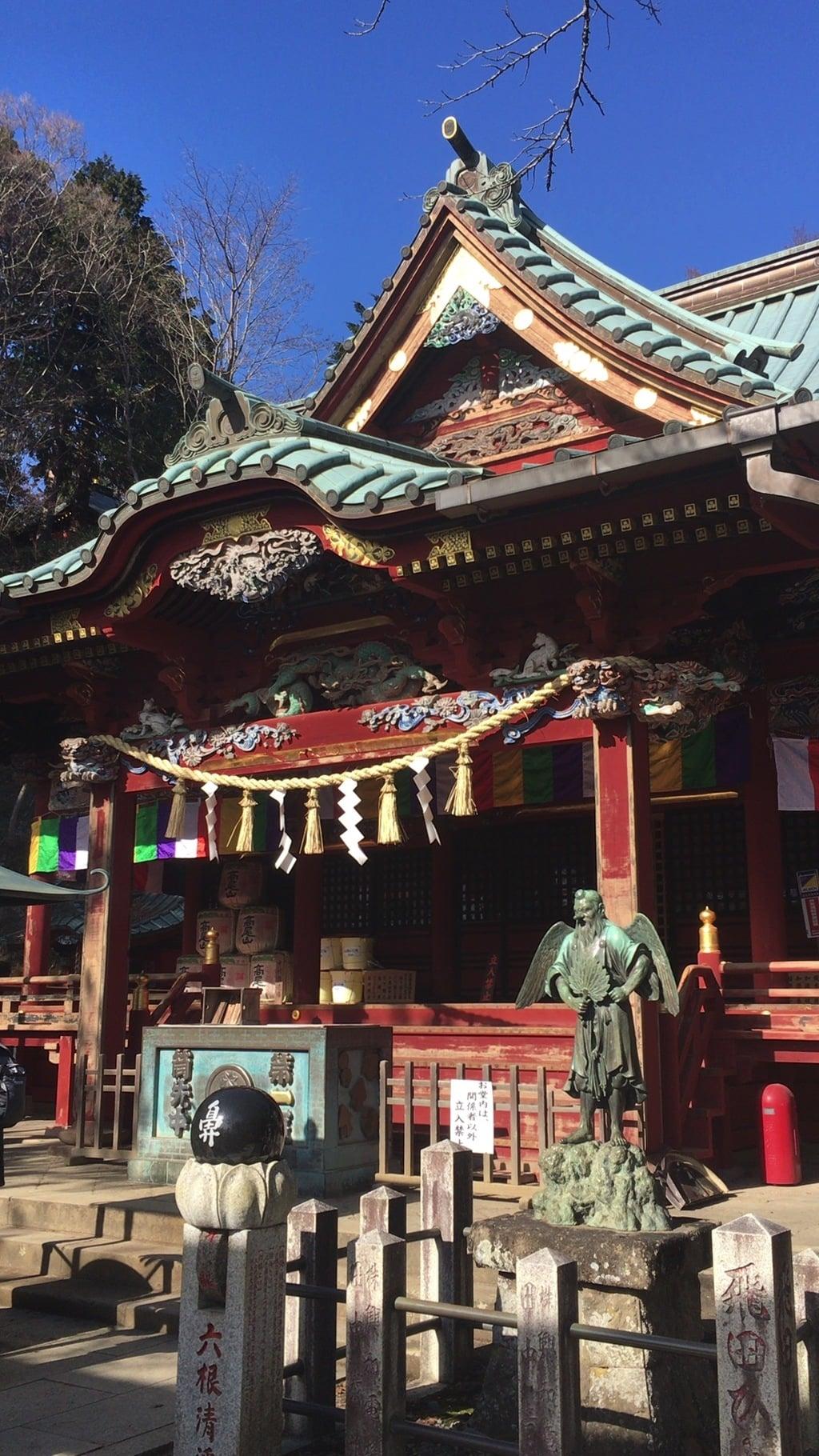 高尾山薬王院の本殿