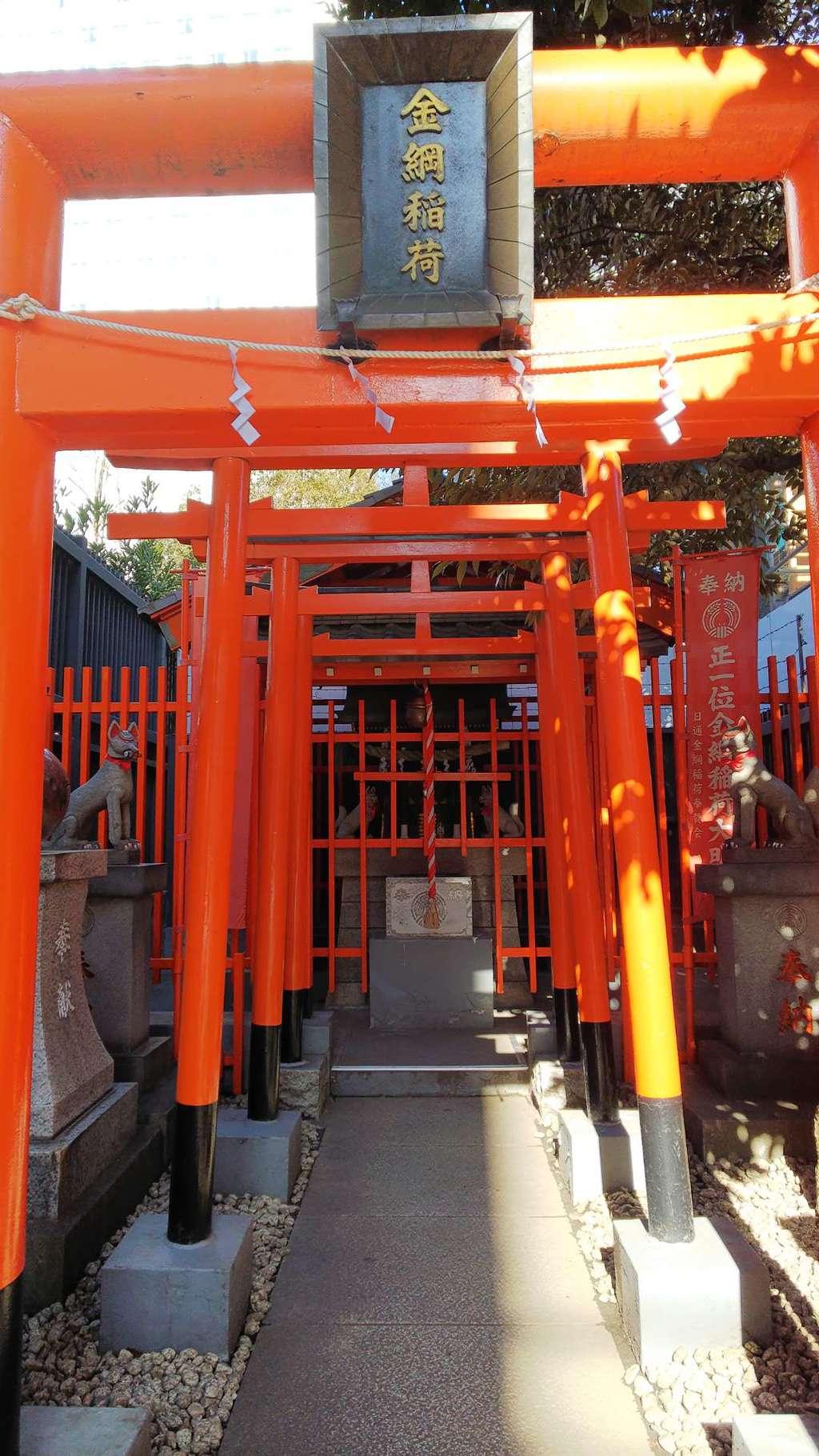 金綱稲荷神社の鳥居