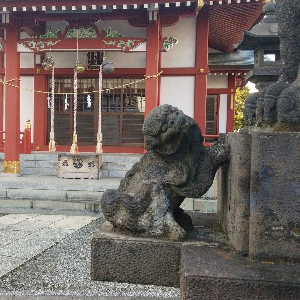 小松川神社の狛犬