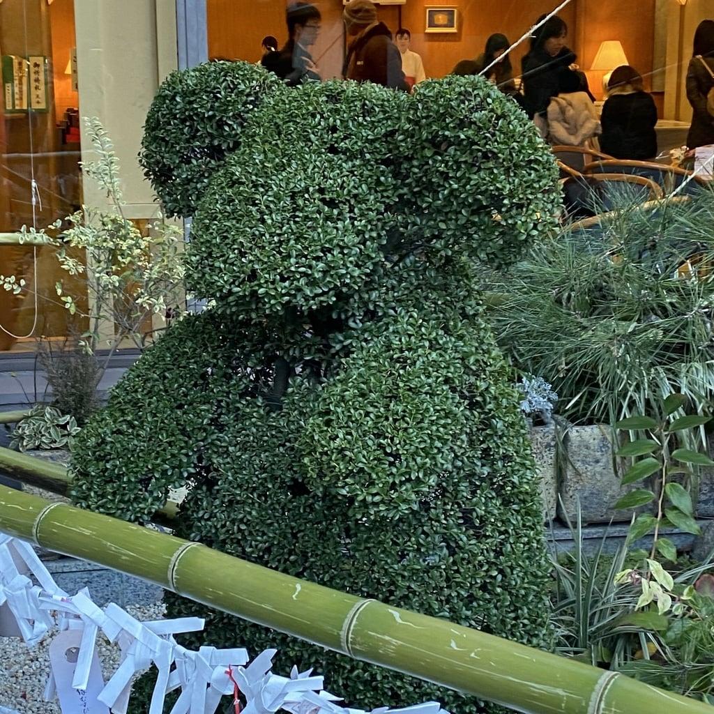 東京大神宮の狛犬