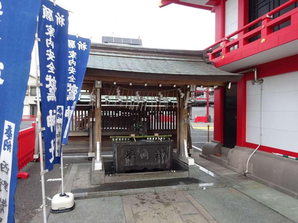 鷲神社の手水
