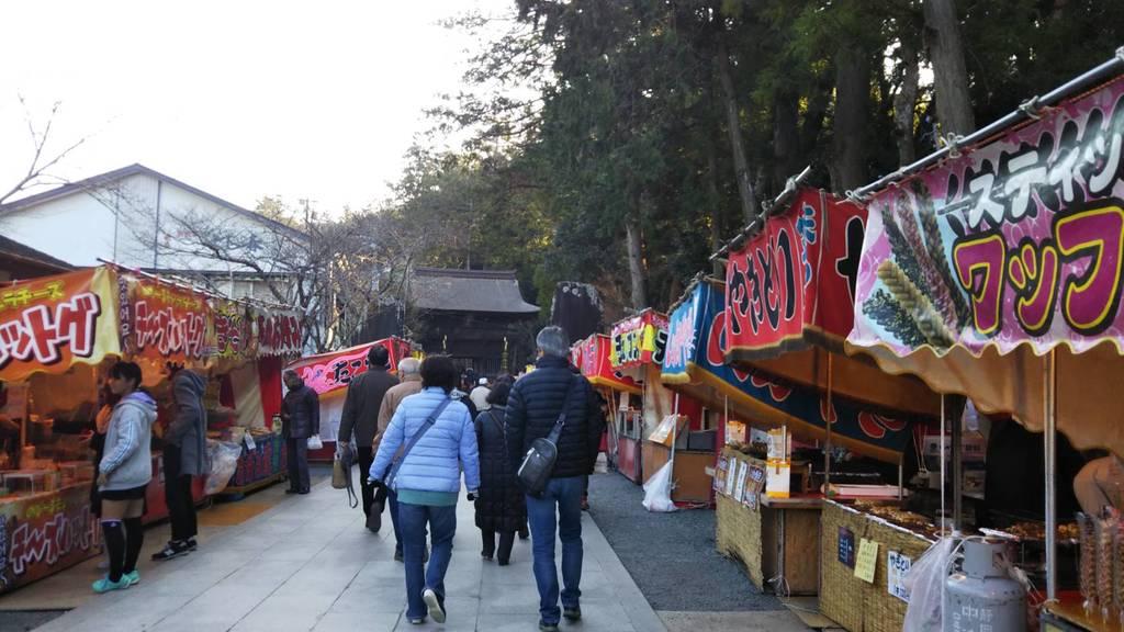 尊永寺のお祭り