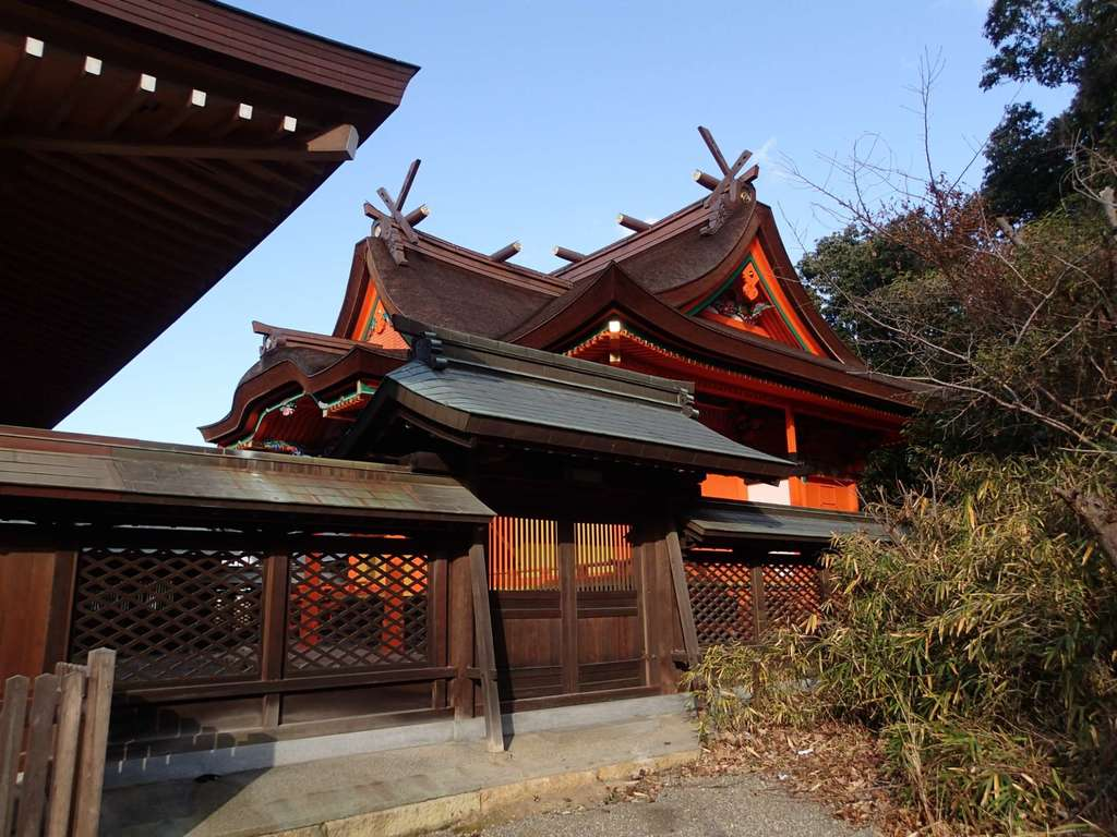 聖神社の本殿