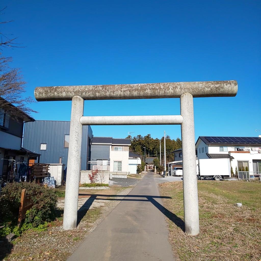 沼鉾神社の鳥居