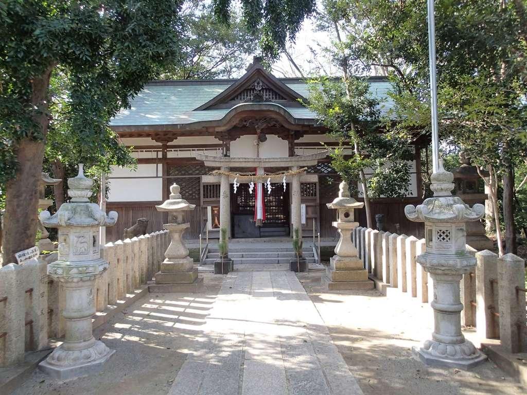 曽禰神社の本殿